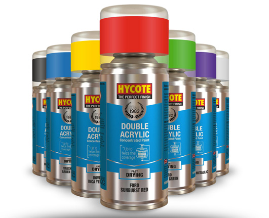 Hycote Double Acrylics