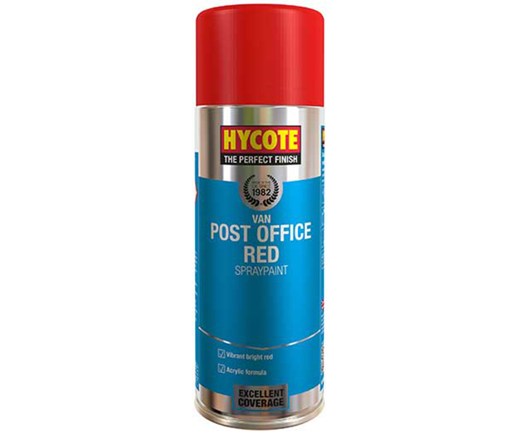 VAN POST OFFICE RED